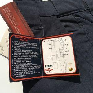 TRU-SPEC Men's 24-7 Tactical Cargo Pants Navy NWT